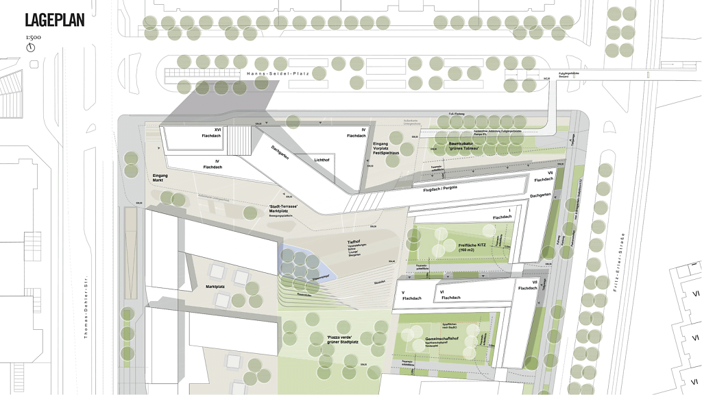 Lageplan + Umfeld Landschaftsarchitektur